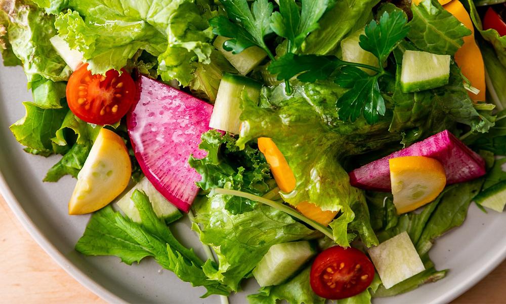 7種野菜の彩りグリーンサラダ